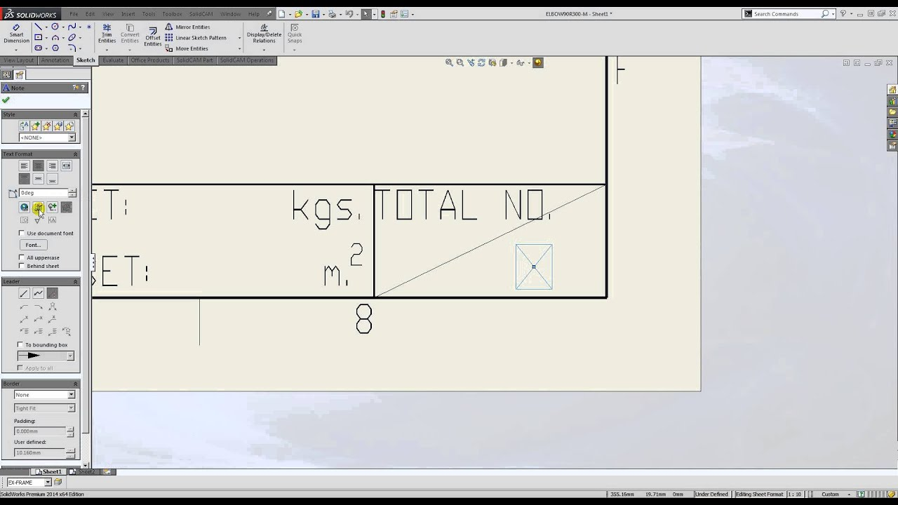 solidworks drawing template tutorial - solidworks how to build drawing