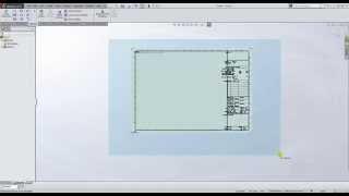 วิธีการสร้างเทมเพลท Solidworks  ( How To Build Drawing Template )
