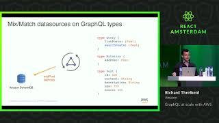 GraphQL at scale with AWS - Richard Threlkeld