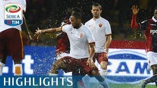 Bologna - Roma 2-2 - Highlights - Giornata 13 - Serie A TIM 2015/16