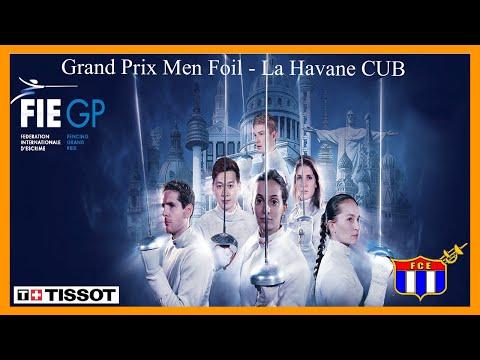 GP Men Foil Individual Havana CUB 2016 Finals