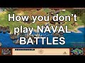 AoE2 HD Edition: How you don't play Naval battles with Italians