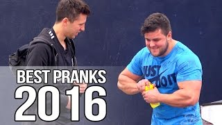 BEST PRANKS OF 2016!  (The Royal Stampede)