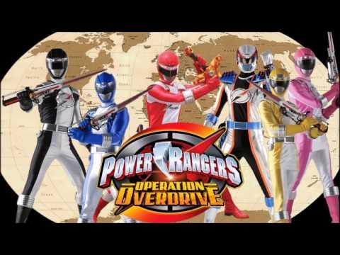 Power Rangers Operation Overdrive Full Team (Fan Art) Mp3