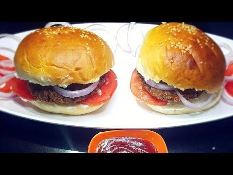 Egg Chicken Burger Recipe | Chicken and Egg Burger Recipein Hindi | Quick and Easy Recipe