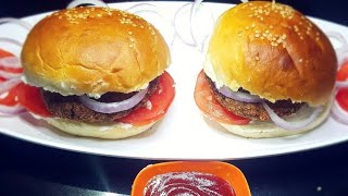 Egg Chicken Burger Recipe | Chicken and Egg Burger Recipe in Hindi | Quick and Easy Recipe