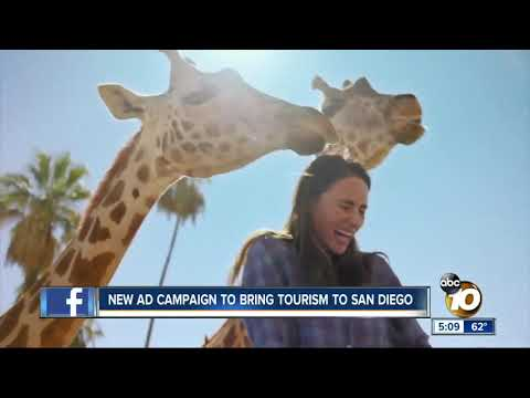 International ad campaign aimed at bringing tourism to San Diego