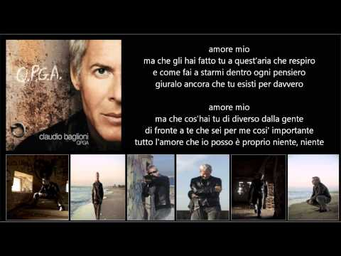 CLAUDIO BAGLIONI Ft. L.Pausini - Con tutto l'amore che posso