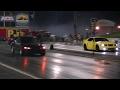 Honda Civic Hatch on Slicks vs Mustang Terminator