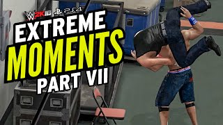 wwe 2k16 extreme moments vii the last bloody affair
