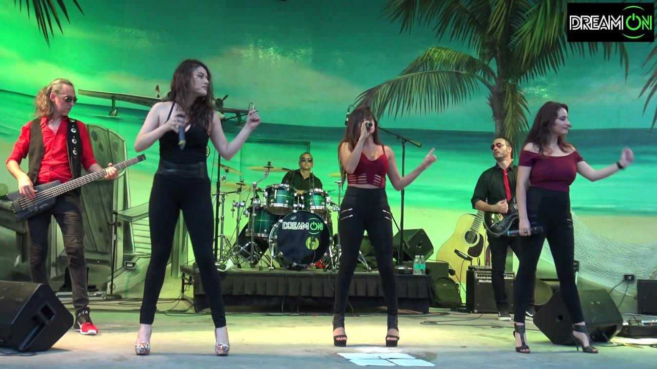 Dream On Band at The Hollywood FL Margaritaville Bandshell