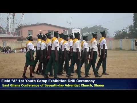 Field A 1st Youth Camp Exhibition Drill Ceremony 2015