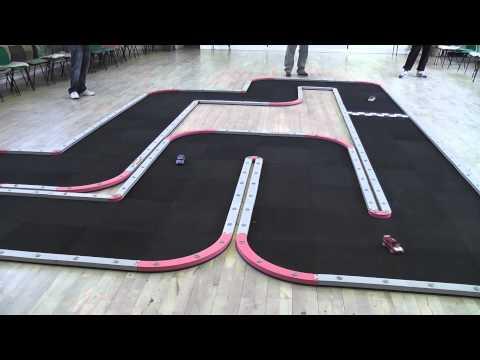 1/28th scale car track