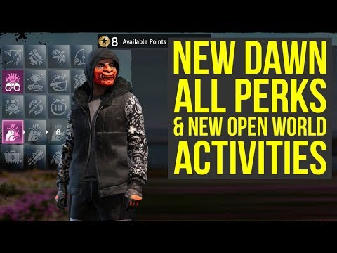 Far Cry New Dawn Gameplay All Perks In The Game & New Open World Activities (Farcry New Dawn)