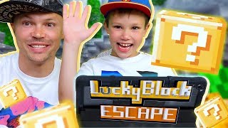 Lucky Block Escape Minecraft / Видео