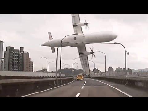 Katastrofy Lotnicze Uwiecznione Przez Kamerę