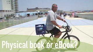 #WhatBeachWhatBook - Physical or eBook?
