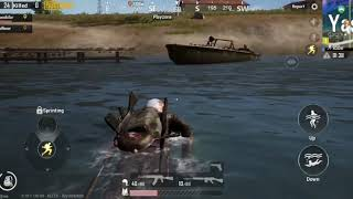 PUBG MOBILE || funny accident dead ||