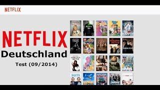 Netflix Test (09/2014) - Deutschland Filme Angebot & Preis Check