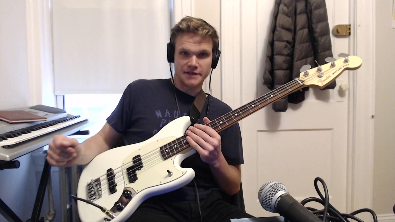 fender mustang pj bass review - youtube