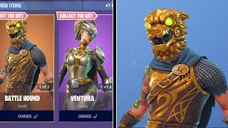 BATTLE HOUND & VENTURA SKINS (Fortnite Item Shop 5th December)