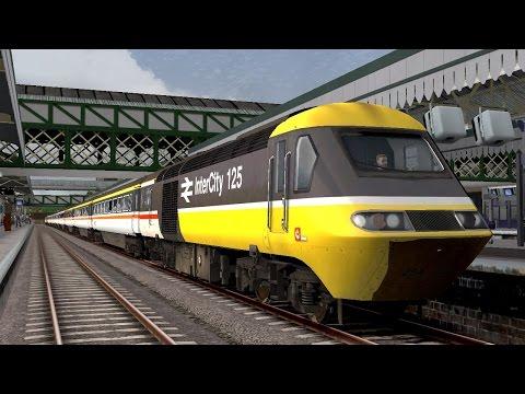 Train Simulator 2016 - Trains At Exeter St David's - Summer 1987