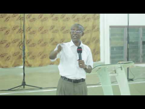 Rev Joseph K Appiah. Being Transformed AGCM KNUST