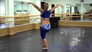 Он-лайн уроки танца живота: Baladi (часть 2 спиной)
