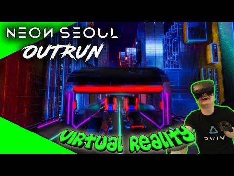 Neon Seoul: Outrun - Verdammt das macht süchtig! [Let's Play][Gameplay][HTC Vive][Virtual Reality]