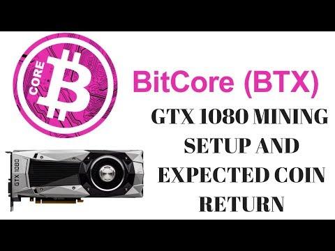 GTX 1080 Bitcore (BTX) Mining! Profitability And Coin Expectation!