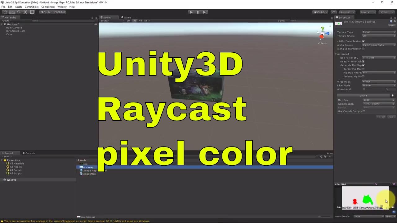 Raycast Pixel and Image Hotspot - Unity [ENG]