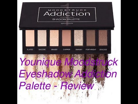 Younique Moodstruck Eyeshadow Addiction Palette 1 Review German