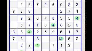 Sudoku 9x9. Level - Very Easy 12