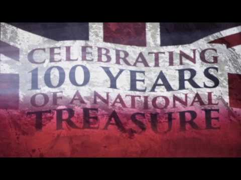 Dame Vera Lynn - 100th Birthday - White Cliffs of Dover Projection