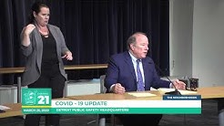 March 25, 2020: Mayor Duggan updates public on fight against COVID-19