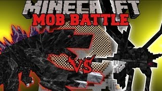 MOBZILLA VS. NIGHTMARE - Minecraft Mob Battles - Arena Battle - OreSpawn Mod Battle