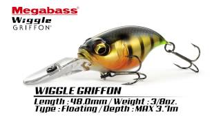 WIGGLE GRIFFON Length : 48.0mm Weight : 3/8oz. Type : Floating Dept...