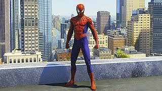 SPIDER-MAN PS4 Sam Raimi Suit Free Roam Gameplay (SPIDERMAN PS4 Silver Lining DLC)