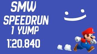SMW SpeedRun 1 Yump 1:20.840