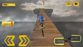 impossible tracks Bicycle Stunt Riding Android Gameplay