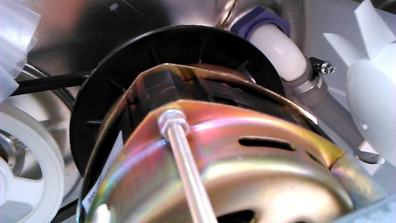 Как разобрать однофазный электродвигатель от стиральной машины .
