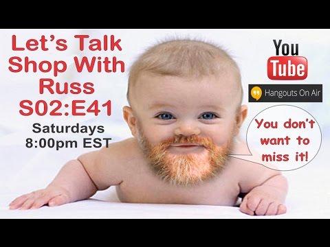 Let's Talk Shop with Russ S02:E41a (Steve Garrison--Spirals by Steve)