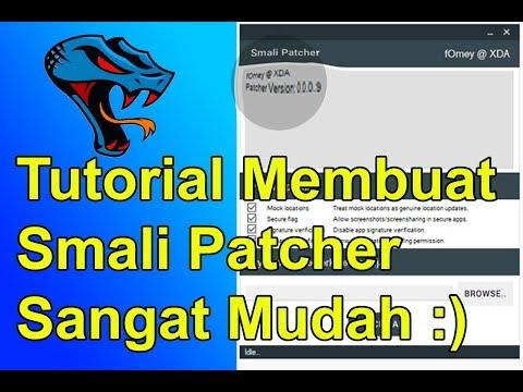 Full Download] Cara Membuat Smali Patcher 100 Berhasil