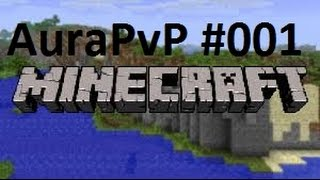 Let's Play Minecraft AuraPvP #001 |♥| Double Kill :P |♥| feat. PapaLP