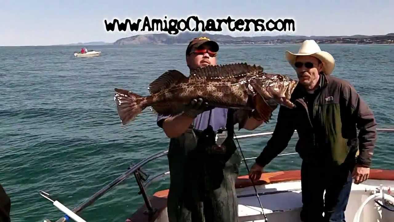 Depoe bay ling cod youtube for Depoe bay fishing charters