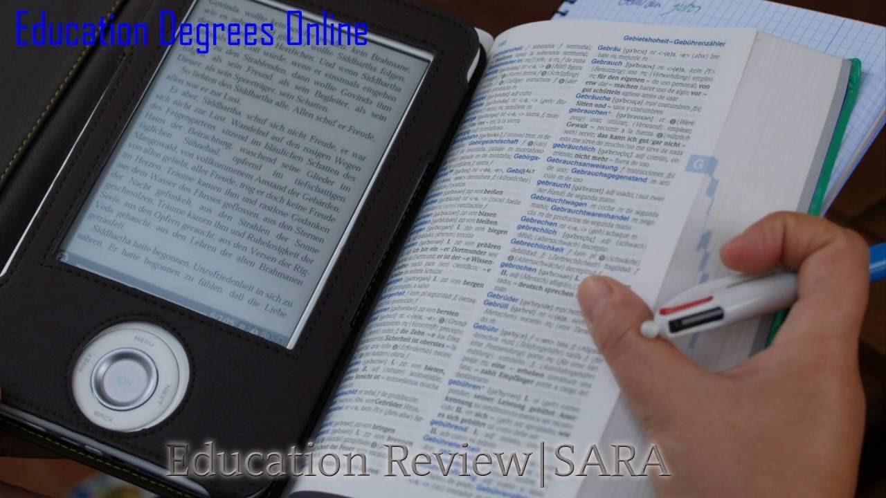 Education Degrees Online Youtube
