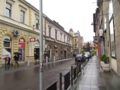 video clip - sarajevo - the  spot where archduke ferdinand was assasinated in 1914 - sidneysealine