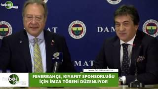 Fenerbahçe kıyafet sponsorluğu için imza töreni düzenledi