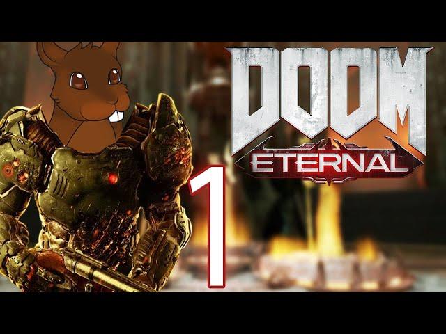 Hell on Earth - Doom Eternal PC - Nightmare Difficulty - Gameplay / Walkthrough - EP 1