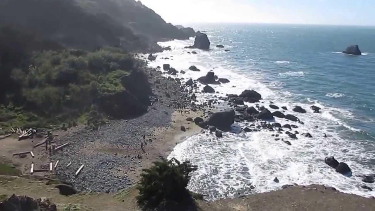 Lands End Eagle Point Hidden Labyrinth Mile Rock Beach San Francisco California You